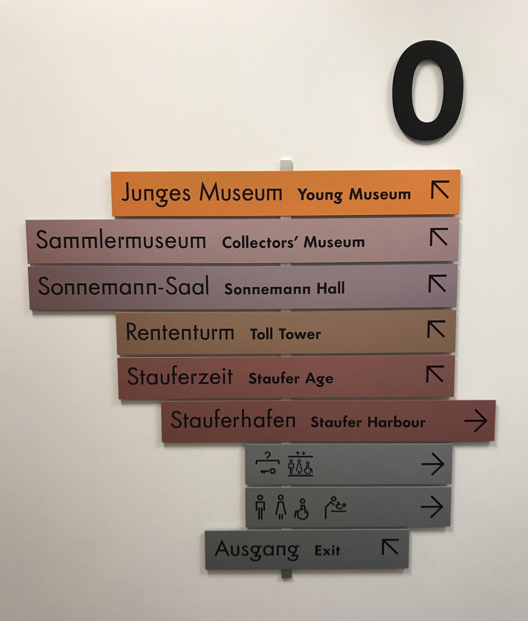 historisches museum frankfurt Signaletik
