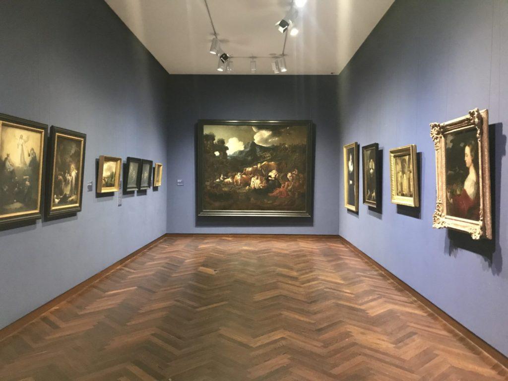 Blick in die Bildergalerie im Städel
