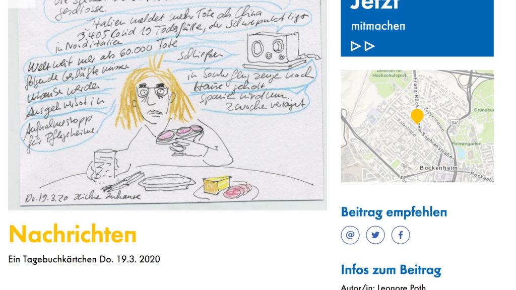 screenshot vom einer skizze, im Mittelpunkt eine zeichnung einer Frau mit text