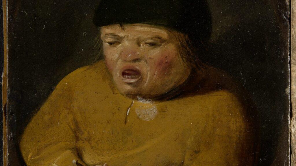 Gemälde von einem kleinen Jungen